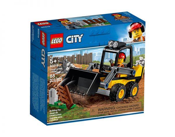 Lego City Trator Carregador De Construção 60219