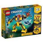 Lego Creator Robot Subaquático 31090