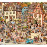 Puzzle 1000 Pcs Göbel Knorr Market Place-2