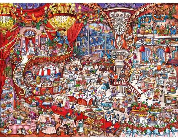 Puzzle 1500 Pcs Berman Patisserie-2