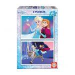 Puzzle 2 x 20 Pcs Frozen