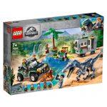 LEGO JURASSIC WORLD Confronto de Baryonyx 75935
