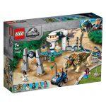 LEGO JURASSIC WORLD Fúria de Triceratops 75937