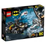 LEGO DC SUPER HEROES Combate de Bat-Moto de Mr. Freeze 76118