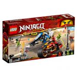 LEGO NINJAGO A Moto de Espadas de Kai e o Jet Ski de Zane 70667