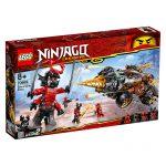 LEGO NINJAGO A Perfuradora de Terra de Cole 70669