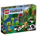 LEGO-MINECRAFT-A-Creche-dos-Pandas-21158-1