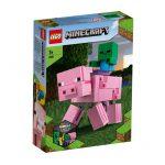 LEGO-MINECRAFT-BigFig-Porco-com-Bebe-1