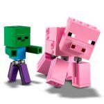 LEGO-MINECRAFT-BigFig-Porco-com-Bebe-2
