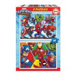 Puzzle-2×20-Pcs-Super-Heroe-Adventures-EDUCA-18648-1