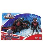 Super-Hero-Avengers-Figure-&-Motorcycle-Kid-Arachnid-Hasbro-E6225-EU40-A