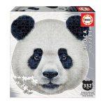 Puzzle-353-Pcs-Panda-Animal-Face-Shaped-EDUCA-18476-a