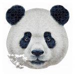 Puzzle-353-Pcs-Panda-Animal-Face-Shaped-EDUCA-18476-b