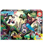 Puzzle-200-pcs-Mysterious-Casa-Encantada-EDUCA-18612-a