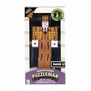 Embalagem do quebra-cabeças puzzleman do Sherlock Holmes