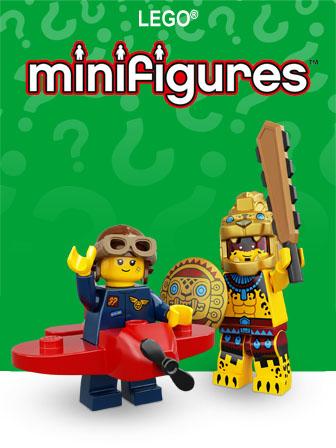 Carrega para acederes ao tema LEGO Minifiguras
