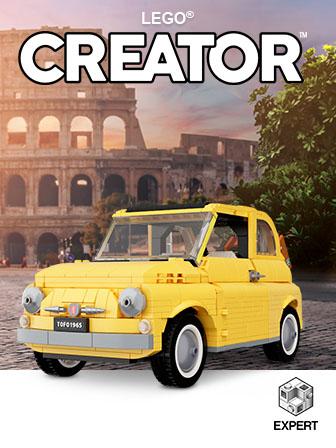 Carrega para acederes ao tema LEGO Creator Expert