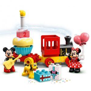 Lego duplo Comboio com bolo de anos e Mickey, Minie e Pluto