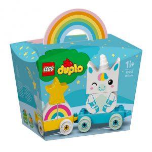 Caixa do produto LEGO duplo Unicórnio