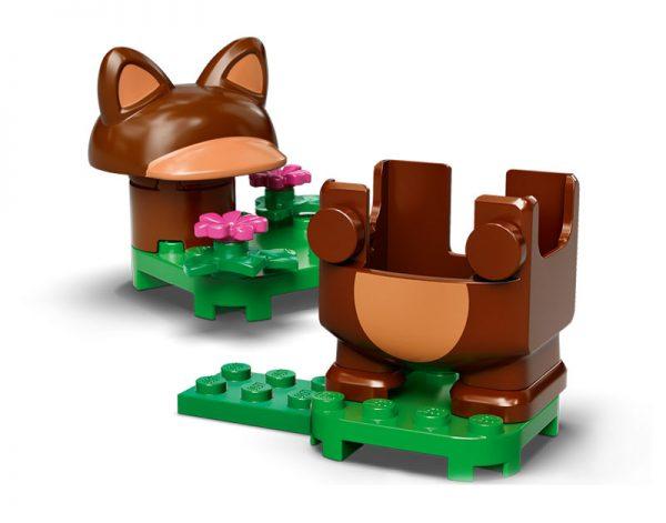 pack power up Tanuki do LEGO Super Mario
