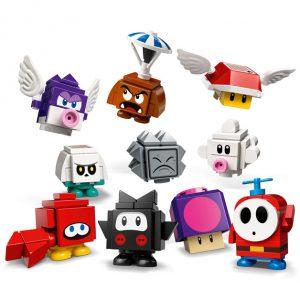 minifiguras LEGO Super Mário 10 diferentes para coleccionar