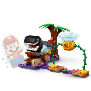 Lego Super Mário expansão do nível na selva
