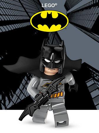 Carrega para acederes ao tema LEGO Batman