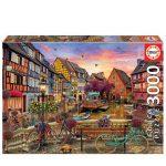 121547-Puzzle-3000-Pcs-Colmar-França-Educa-19051-cx