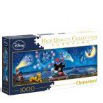 121560-Puzzle-1000-Pcs-Panorama-Mickey-&-Minnie-Clementoni-C39449-cx