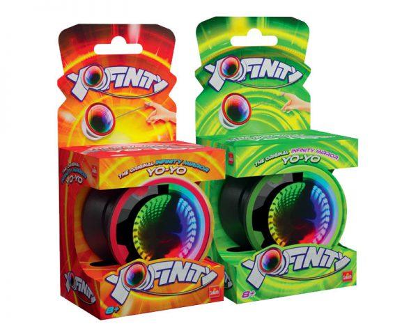 yo-yo Yofinity vermelho e verde