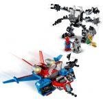 L76150-LEGO-MARVEL-SPIDER-MAN-Spiderjet-vs-Robô-Venom-76150
