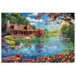 121614-Puzzle-5000-Pcs-Casa-No-Lago-EDUCA-19056