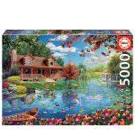 121614-Puzzle-5000-Pcs-Casa-No-Lago-EDUCA-19056_