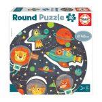 121640-Puzzle-28-Pcs-O-Espaço-Round-EDUCA-18908_
