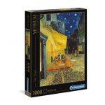 113736-Puzzle-1000-Pcs-Van-Gogh,-Esterno-di-Caffè-di-notte-Clementoni-C31470-