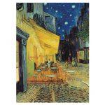 113736-Puzzle-1000-Pcs-Van-Gogh,-Esterno-di-Caffè-di-notte-Clementoni-C31470