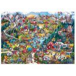 121832-Puzzle-1000-Pcs-Berman-Go-Camping!-HEYE-HY29930-