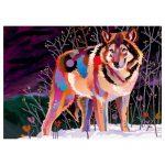 121841-Puzzle-1000-Pcs-Precious-Animals-Night-Wolf-HEYE-HY29939-