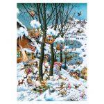 121857-Puzzle-1000-Pcs-Ryba-Paradise-In-Winter-HEYE-HY29963-