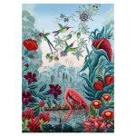 121849-Puzzle-1000-Pcs-Exotic-Garden-Bird-Paradise-HEYE-HY29957-