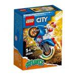 L60298-LEGO CITY Motocicleta de Acrobacias Foguete 60298-Lego